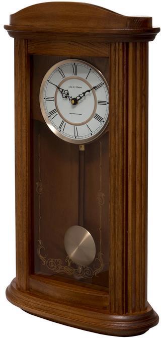 Mayfair Oak Pendulum Clock with Westminster Chimes Thumbnail 2