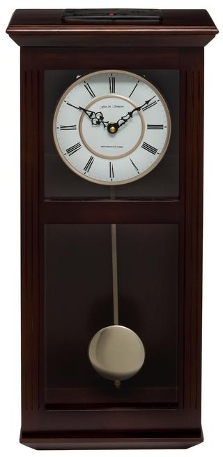 Ashton Walnut Pendulum Clock with Westminster Chimes Thumbnail 1