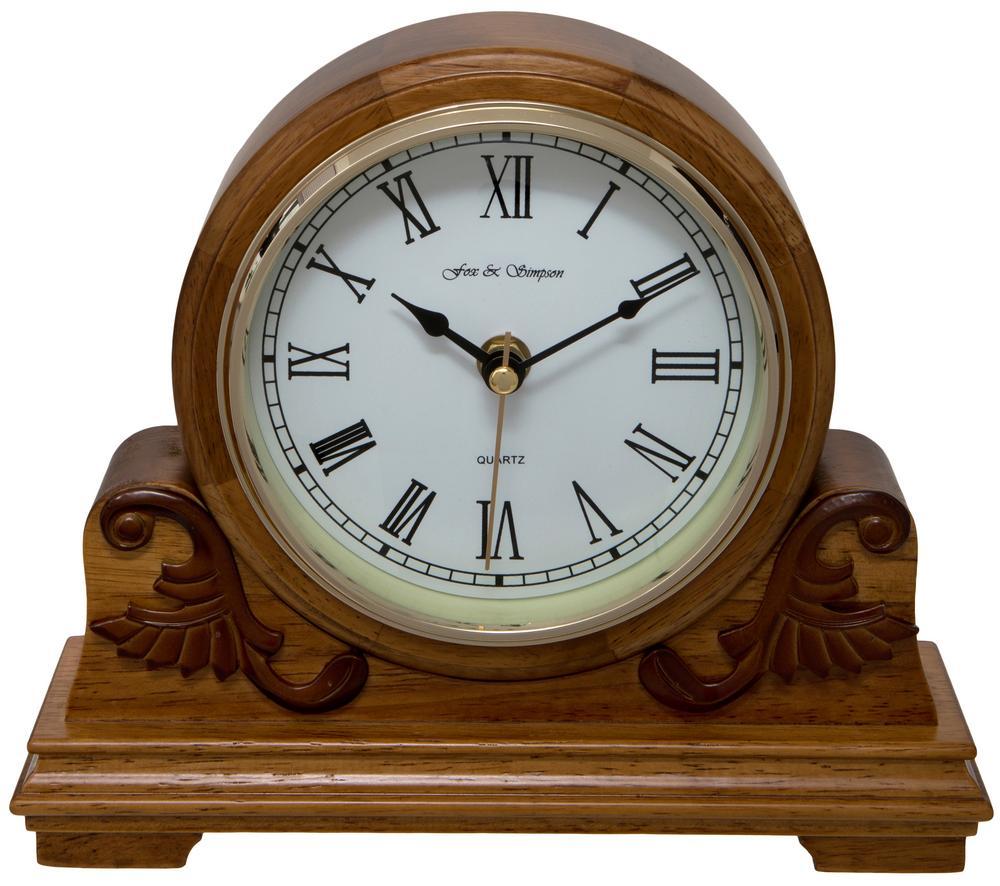 Buckingham Oak Mantel Clock