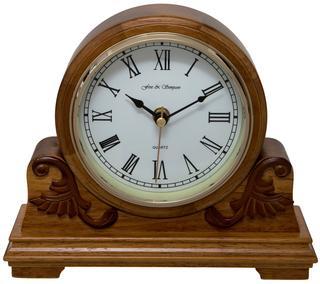 Buckingham Oak Mantel Clock Thumbnail 1