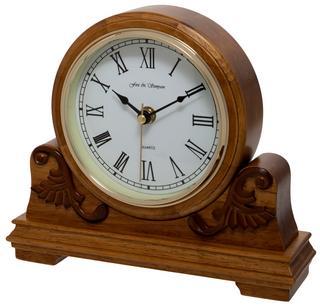 Buckingham Oak Mantel Clock Thumbnail 2