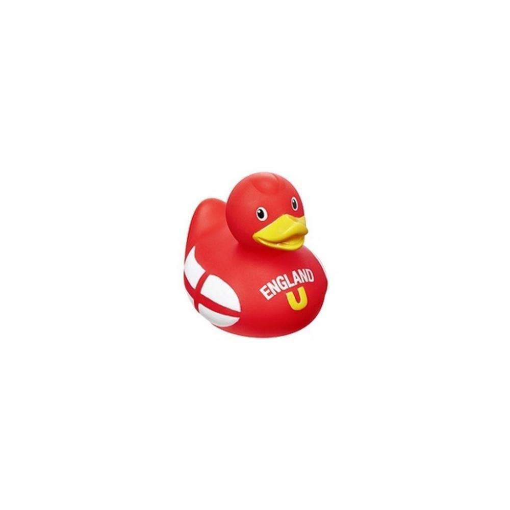 Bud Luxury England Flag Medium Rubber Duck