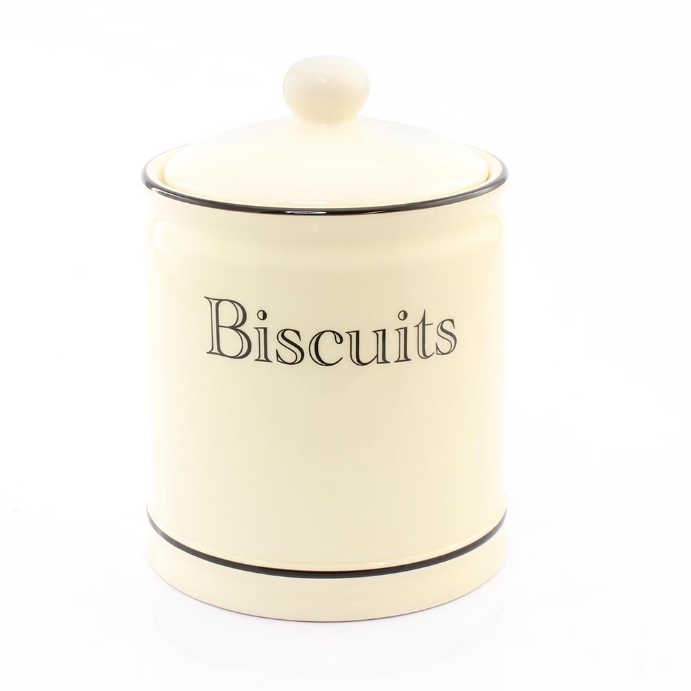 Cottage Kitchen Cream Biscuit Jar
