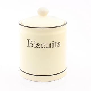 Cottage Kitchen Cream Biscuit Jar Thumbnail 1