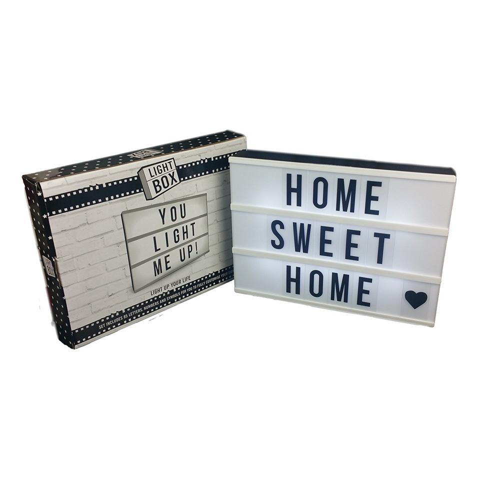Your Own Message Light Box