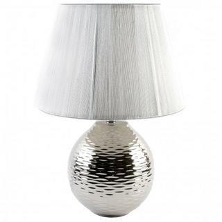 Juliana Silver Ripple Ceramic Ball Lamp With String Lamp Shade Thumbnail 1