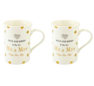 Mad Dots Mr Mrs Mugs Pair Thumbnail 1