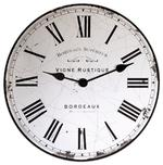 LONDON CLOCK COMPANY VIGNE RUSTIQUE MIRROR WALL CLOCK 40CM