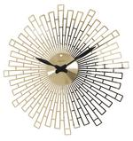 LONDON CLOCK COMPANY ART DECO HIGH GLOSS GOLD WALL CLOCK 45CM
