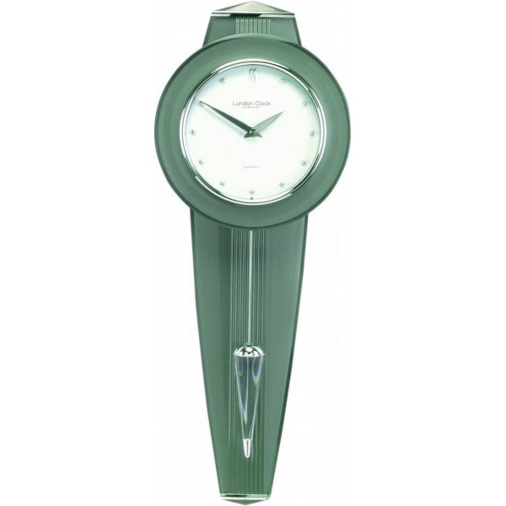 London Clock Company Silver Finish Pendulum Clock