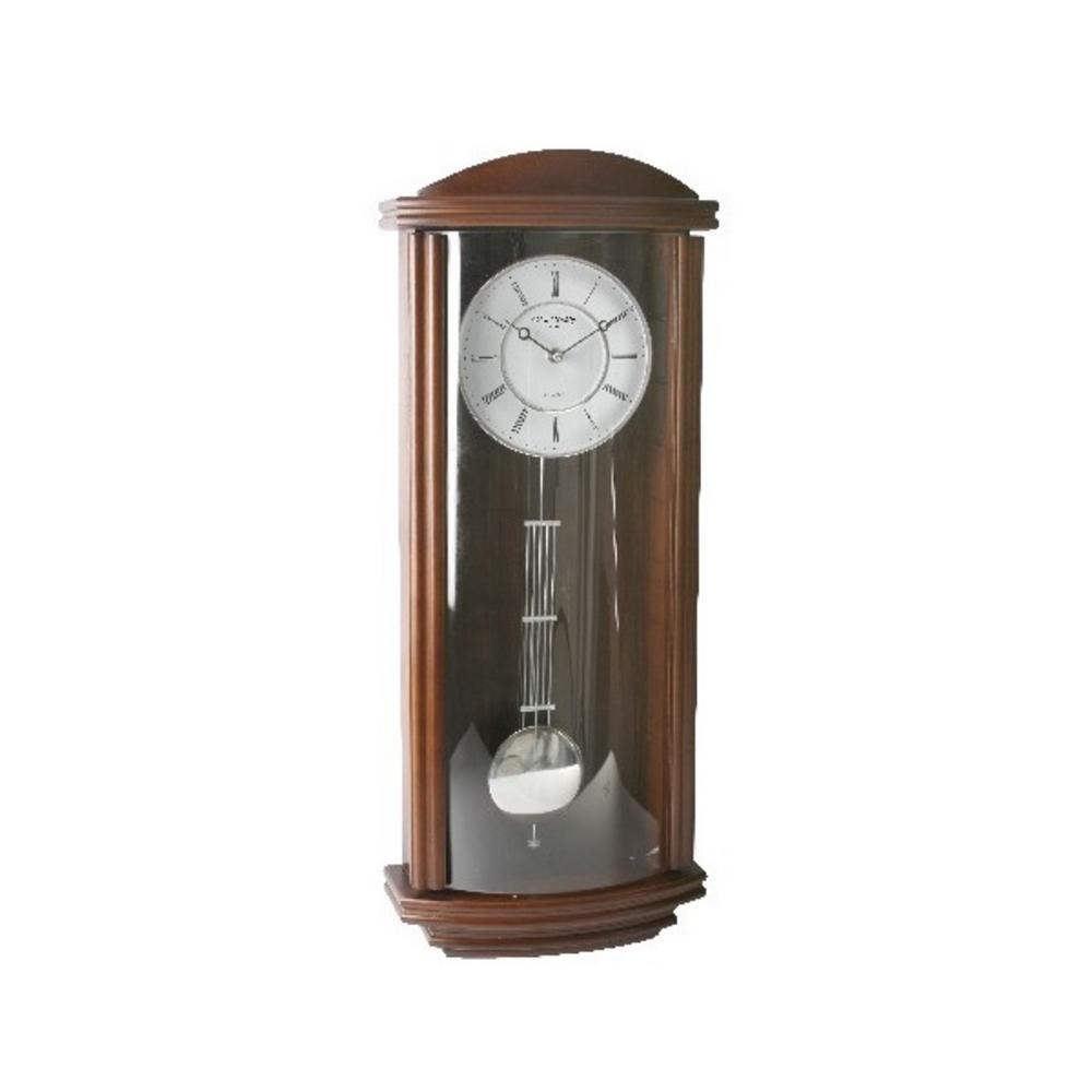 Wm Widdop Roman Dial Modern Pendulum Wall Clock