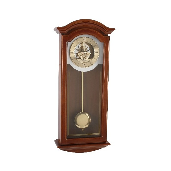 Wm widdop skeleton dial modern pendulum wall clock ebay - Contemporary pendulum wall clock ...