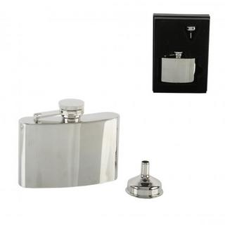 4Oz Stainless Steel Hip Flask Thumbnail 1