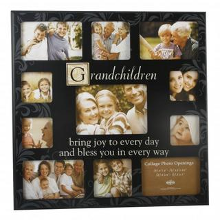 New View Collage Elevan Piece Aperature Grandchildren Photo Frame - Great Gift Thumbnail 1