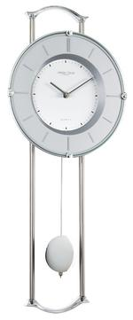 Silver Finish Pendulum Clock
