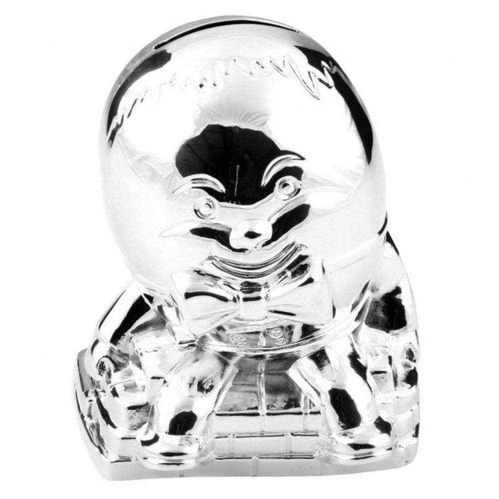 Juliana Silver Plated Humpty Dumpty Money Box - Christening Or New Baby Gift