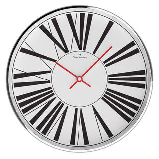 Oliver Hemming Contemporary Roman Dial 30Cm Wall Clock - Great British Design Thumbnail 1
