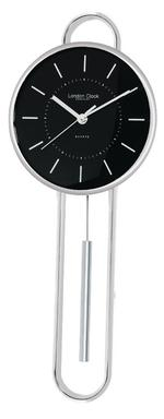 London Clock Co Silver Marker Pendulum Wall Clock