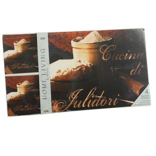 Juliana Home Living Set Of Four Placemats And Coasters With Bread & Cheese Image Thumbnail 1