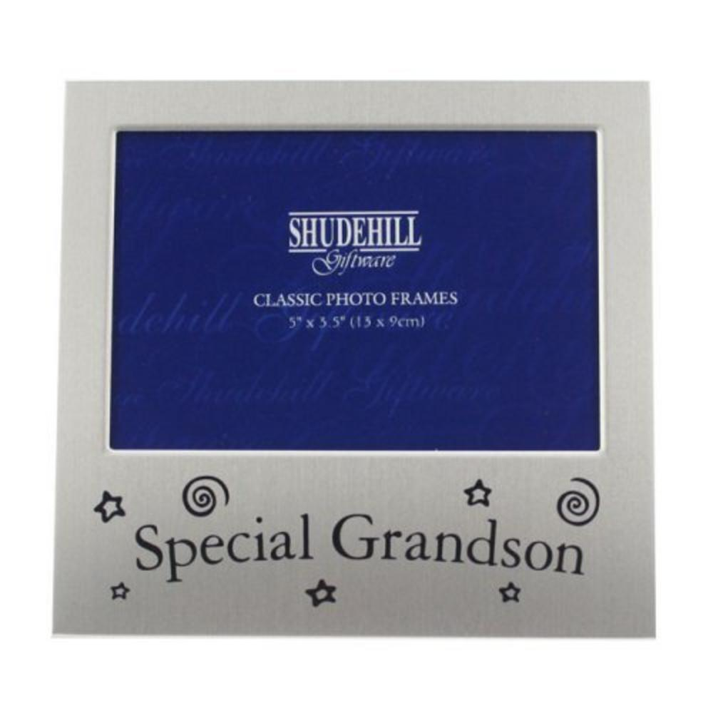 """Shudehill Giftware Special Grandson Picture Photo Frame Gift - 5"""" X 3.5"""""""