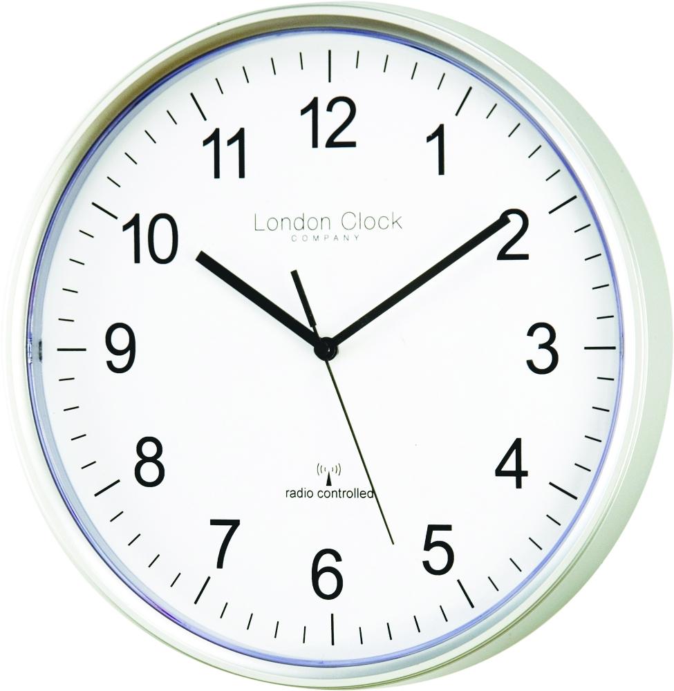 London Clock Company Radio Controlled Msf Atomic Modern