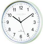 London Clock Company Radio Controlled Msf Atomic Modern Simple Wall Clock