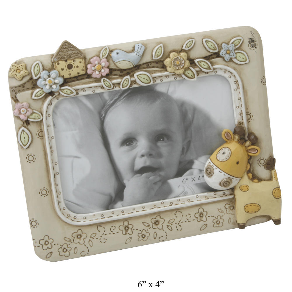 "Juliana Baby Noah'S Ark Picture Photo Frame 6"" X 4"" Gift Boxed"