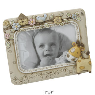 "Juliana Baby Noah'S Ark Picture Photo Frame 6"" X 4"" Gift Boxed Thumbnail 1"