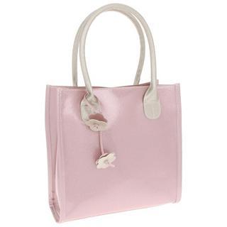 Ladies Equilibrium Pink Glitter Hangbag Thumbnail 1