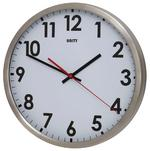 Unity Gairn Silent Sweep Non-Ticking 30Cm Contemporary White Dial Wall Clock