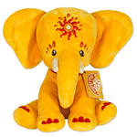 Etana Plush 25Cm Yellow Elephant Cuddly Toy By Pink Chillies