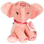 Aditi Plush 25Cm Pink Elephant Cuddly Toy By Pink Chillies