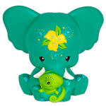 Kondo & Raymundo 13Cm Green & Lime Elebank Money Box By Pink Chillies