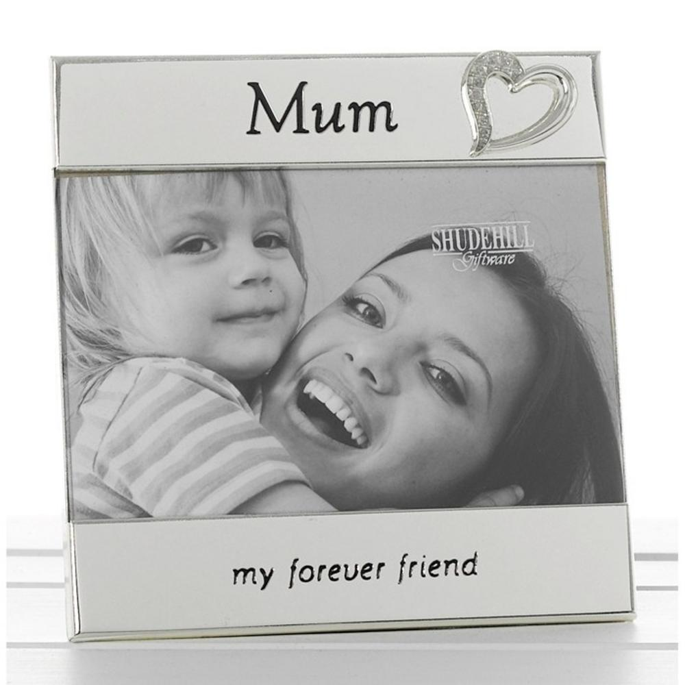 Siverl Message Band Frame Mum 6X4