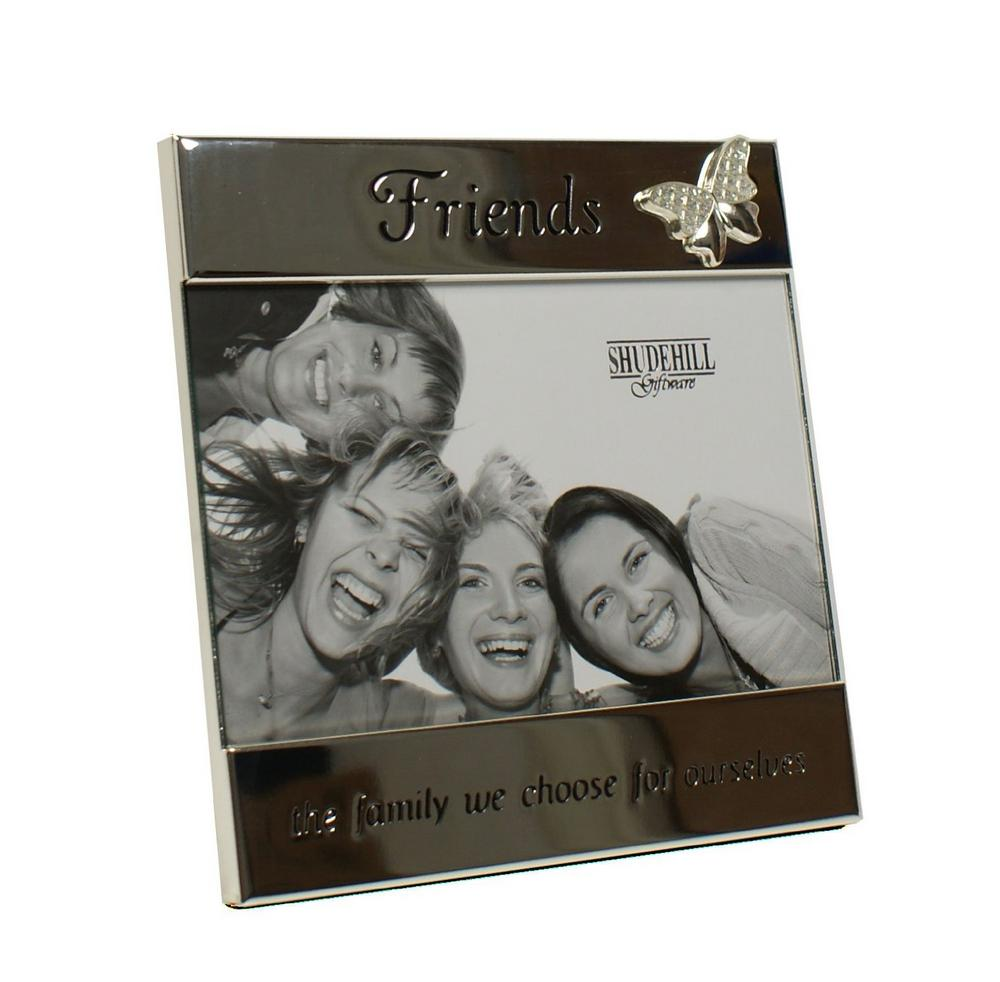 Silver Message Band Friends 6 x 4