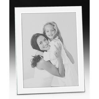 "Shudehill Quality Satin White Plain Picture Photo Frame - 2"" X 3"" - Great Gift Thumbnail 1"