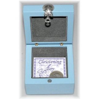 Baby Boy First Keepsake Box Gift Boxed With Teddy Bear Thumbnail 2