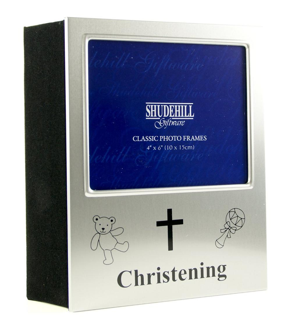 Satin Silver Christening Occasion Picture Photo Album - 72 Photos