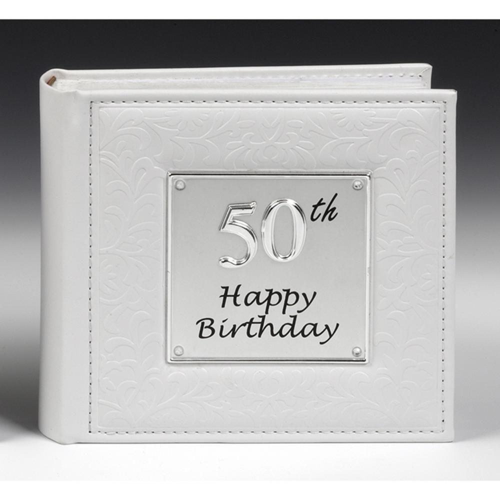 Deluxe Photo Album 50th Birthday
