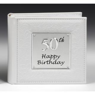 Deluxe Photo Album 50th Birthday Thumbnail 1
