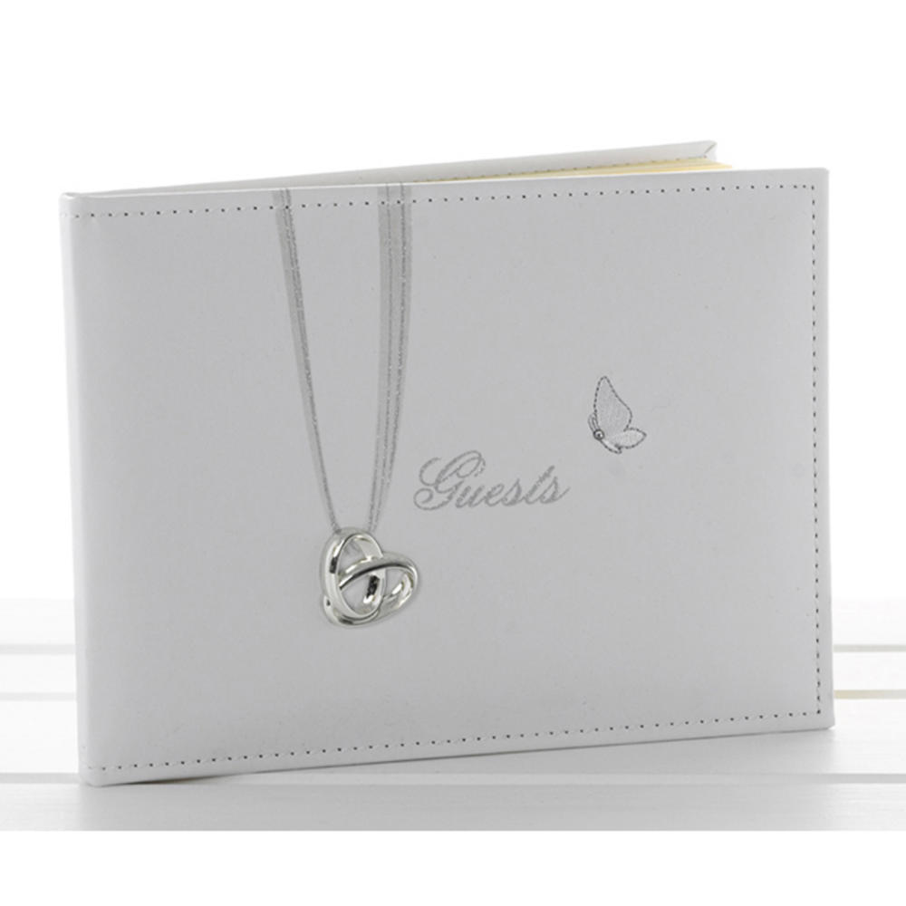 Wedding Rings Guest Book