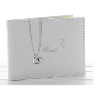 Wedding Rings Guest Book Thumbnail 1