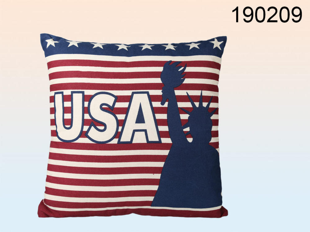 Stars and Stripes USA Cushion