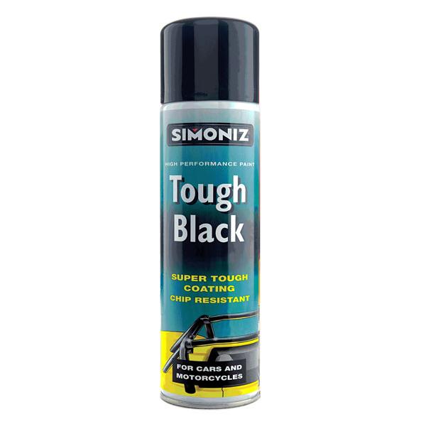Simoniz Tough Black Gloss High Performance Car Bike Spray ...