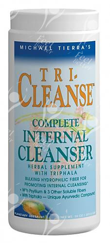 Planetary Herbals Tri-Cleanse Internal Cleanser with Flax Seed / Linseed -284g