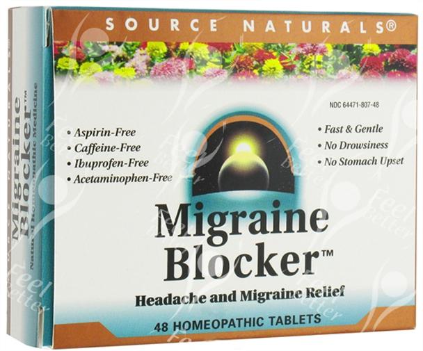 Headache / Sorehead Relief Formula inc SKULLCAP & SANGUINARIA & PULSATILLA - x48