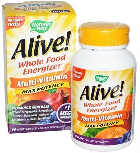 Natural Whole Food Energizer inc Enzymes Amylase - Lipase ...