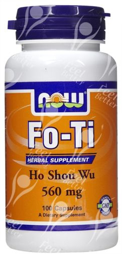Now Foods Fo Ti Ho Shou Wu Reviews