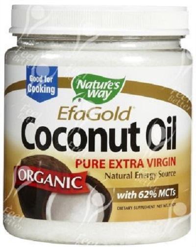 Aceite De Coco Cocinar | Suplemento Aceite De Coco Extra Virgen Organico Natures Way