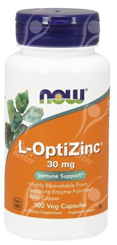 Now Foods L Opti Zinc Optizinc 30mg X100cap With Copper Ebay